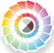 множество цветовых решений и декоративных покрытий дверей ZK
